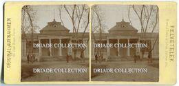 FOTOGRAFIA STEREOSCOPICA ICAZCATOSAC UNGHERIA ANNO FINE 1800 - Stereoscopi
