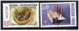 BOSNIA & HERCEGOVINA (Sarajevo) 1997 Art MNH / **.  Michel 114-15 - Bosnia And Herzegovina