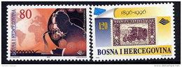 BOSNIA & HERCEGOVINA (Sarajevo) 1996 Postal Anniversaries MNH / **.  Michel 59-60 - Bosnia And Herzegovina