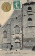 58 - Corbigny -Eglise Saint-Seine, Ensemble Ouest (Pastille En Métal Noel Noel, Dieu Protège La France) - Corbigny