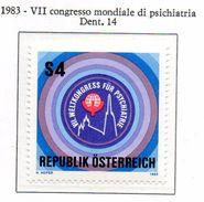 PIA - AUST - 1983 -  VII° Congresso Mondiale Di Psichiatria A Vienna - (Yv 1574) - Salute