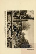 """Foto / Buchseite (24,7 X 16,7 Cm), Geschütz """"Langer Max"""" - Weltkrieg 1914-18"""