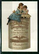LE CHOCOLAT HOLLANDAIS VAN HOUTEN MEILLEURS QUE TOUT LES CHOCOLATS .  Voir Recto - Verso    (U499) - Publicité
