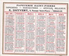 CALENDRIER 1937 - Small : 1921-40