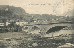 ALBERTVILLE - Pont Des Adoubes, Deux Cachets 107 Régiment D'infanterie. - Albertville