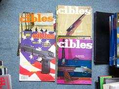 ( Arme  Pistolet  Fusil Carabine )  CIBLES  La Revue Des Armes & Du Tir Lot De 10 Numeros 1967 - Armes