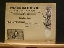 65/396A   LETTRE  BELGE  IMPRIMES - Belgien