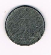 )  LEOPOLD III  1 FRANK  1941 FR/ VL - 1934-1945: Leopold III