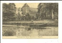 Ollignies Pensionnat Des Dames Bernardines ( Timbres Arrachés ) - Lessines