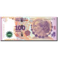 Argentine, 100 Pesos, Undated (2012), KM:358b, SPL+ - Argentine