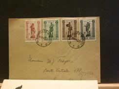 65/399A   LETTRE  BELGE  1943 - Lettres & Documents