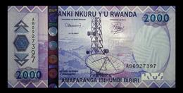 # # # Banknote Aus Ruanda (Rwanda) 2.000 Francs UNC # # # - Ruanda