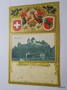 Burgdorf-1902-Carte Gaufrée Couleur Avec Embleme - BE Berne