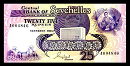 # # # Banknote Seychellen (Seychelles) 25 Rupees UNC # # # - Seychellen