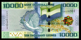 # # # Banknote Sierra Leone (Sierra Leone) 10.000 Leones 2013 UNC # # # - Sierra Leone