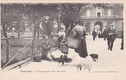 CPA - Métier - Marchand - L'Aveugle Du Pont Des Arts - Paris Vécu - Marchands Ambulants