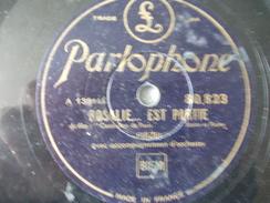 78T - Les Hommes Ne Mentent Jamais Et Rosalie Est Partie Par Firzei - 78 G - Dischi Per Fonografi