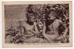 """ILES SAMOA (OCEANIE / POLYNESIE) - DEUX PETITS """"GAS"""" QUI SE CROIENT INTERESSANTS - French Polynesia"""