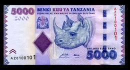 # # # Banknote Tansania (Tanzania) 5.000 Shillingi UNC # # # - Tansania