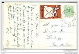 HALANZY ..-- Humour . 1956 Vers HALANZY ( Jean - Luc Et Sylviane LIBOIS ) . Voir Verso . - Aubange