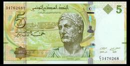 # # # Banknote Tunesien (Tunisia) 5 Dinars UNC # # # - Tunesien