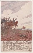 Künstlerkarte AK Wir Zieh'n Hinaus In Ruhmvolle Schlacht Bund Der Deutschen In Böhmen Bundeskarte Nr. 313 Ernst Kutzer - Künstlerkarten