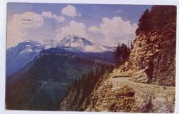 Heaven's Peak Logan Pass Glacier National Park - Washington DC