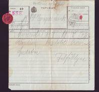 HUNGARY TELEGRAM 1914 KOLOSVAR / CLUJ - Hungary