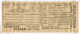 FRANCE 1927 POSTAL RECEIPT FORM ADVERTISING TEINTURE IDEALE - Europe (Other)