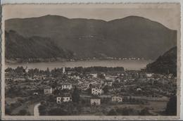 Caslano - Panorama - Photo: Ditta G. Mayr No. 2654 - TI Tessin