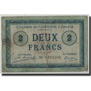 France, Amiens, 2 Francs, 1920, B, Pirot:7-53 - Chamber Of Commerce