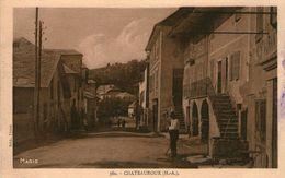 (50) CPA  Chateauroux Les Alpes ( Bonne Etat) - France