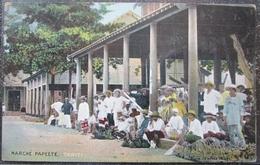 Tahiti Marché Papeete Cpa - Polynésie Française