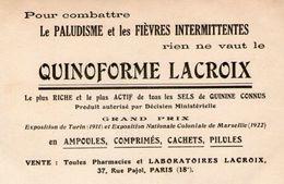 (50) CPA  PUB   Paris  Pharmacies Lacroix Rue Pajol 18 Eme  ( Bonne Etat) - Paris (18)