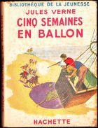 Jules Verne - Cinq Semaines En Ballon - Bibliothèque De La Jeunesse - ( 1948 ) . - Bücher, Zeitschriften, Comics