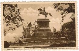 Argentinie, Argentina, Buenos Aires, Statue De Saint Martin (pk35418) - Argentine