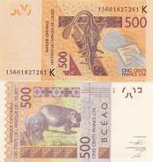 West African States - Senegal - 500 Francs K 2015 UNC Lemberg-Zp - Senegal