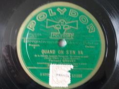 78T - Mes Souvenirs Pour Moi Sont Des Richesses Et Quand On S'en Va Par Fernand Gravey - 78 G - Dischi Per Fonografi