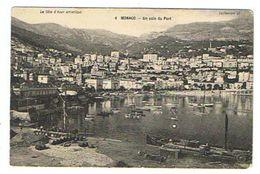CPA MONACO Un Coin Du Port - Port