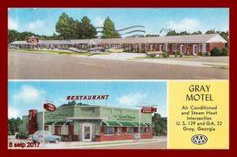 Georgie - Gray Motel   ( Scan Recto Et Verso ) - Etats-Unis