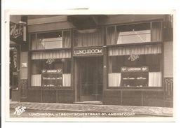 Amersfoort.Heck's Lunchroom. 25.8.1940 Naar Duitsland.CENSUUR-TANKSTELLE-ZENSUR - Amersfoort