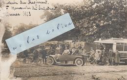 Souvenir Du Régiment - Manoeuvres Du Sud-Ouest En 1913 ( Carte-photo ) En L'état - Régiments
