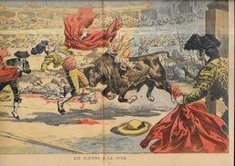 Revue Le Pélerin  N° 1029 De 1898 Corrida Taureau - 1850 - 1899