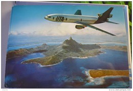 AIRLINES ISSUE / CARTE COMPAGNIE         UTA    DC 10 30 - 1946-....: Era Moderna