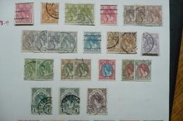 Pays Bas 1898   N°49/62 Oblitérés Nuances - Oblitérés