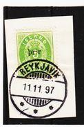 MAG1169 ISLAND 1897 Michl 19 B I Auf BRIEFSTÜCK   Siehe ABBILDUNG - 1873-1918 Dänische Abhängigkeit