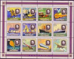 Cook Islands, 1979, Rowland Hill, UPU, United Nations, MNH, Michel Block 90 - Cook Islands