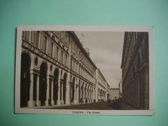 TORINO  -  TURIN  -  Via Roma   -  ITALIE - Churches