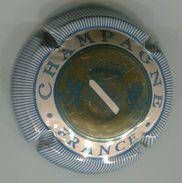 CJ-CAPSULE-588-CHAMPAGNE Bleu - Champagne