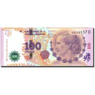 Argentine, 100 Pesos, Undated (2012), KM:358b, NEUF - Argentine